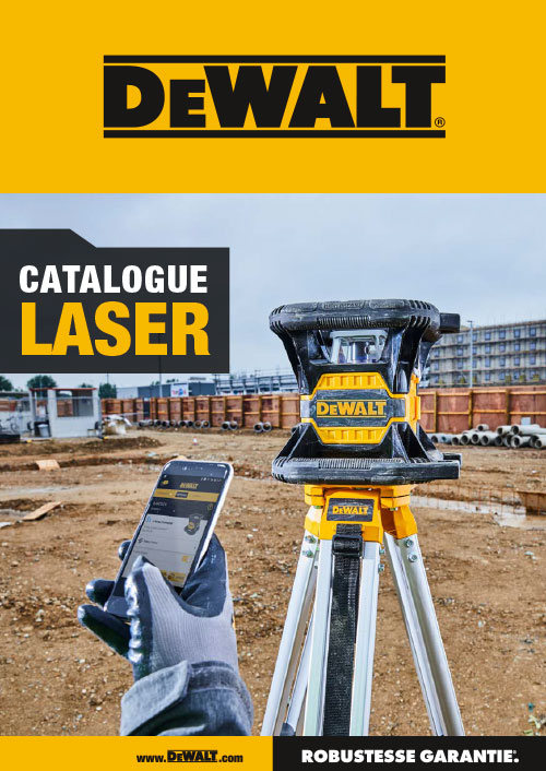 DeWALT laser catalogue 2019 FR